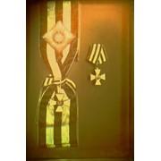 Голограмма художественная Георгиевский крест фото