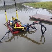 Очистка пожарных водоемов фото