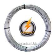 Проволока стальная оцинкованная (6, 8, 10 ) мм диаметр / провод молниезащиты и заземления фото