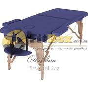 Массажный стол складной Art of choice Teo (синий), art: HQ01DB фото