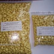 Воск для депиляции ITALWAX Белый Шоколад 500 грамм (гранулы для депиляции бикини, лица и подмышек) фото