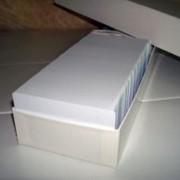 Заготовки пластиковых карт фото