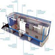 Шелтер (блок-контейнер) телеметрии и связи фото
