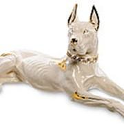 Скульптура Немецкий дог/Собака 66 см. арт.AHURA-32 фото