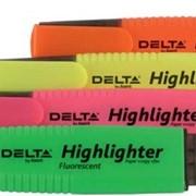 Маркер Highlighter D2500, 1-5 мм клиноп. розовый 1/12 99847 фото