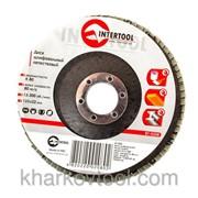 Диск шлифовальный лепестковый Intertool BT-0208 фото