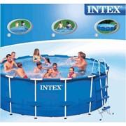 Каркасный бассейн Intex 54940, 457 см х 107 см. фото