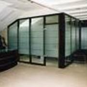 Алюминиевые конструкции (офисные перегородки) фото