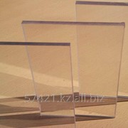 Монолитный поликарбонат Woggel прозрачный фото