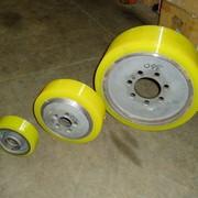 Колеса из полиуретана для погрузчиков фото