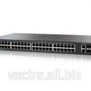 Коммутатор Cisco SB SG500X-48 48-Port Gig with 4-Port 10-Gigabit Stackable Managed Switch (SG500X-48-K9-G5) фото