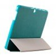 Чехол Crazy Horse Tri-fold Leather Folio Cover Stand Blue for Samsung Galaxy Tab 3 10.1 P5200/P5210 фото
