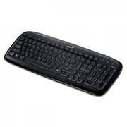 Клавіатура Genius SlimStar 110, PS/2, BB, Black фото