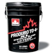 Масла, масло загущенное мультивязкое, Жидкости для спецтехники Produro TO-4+ XL Synthetic Blend Lo Temp, Масла низкотемпературные фото