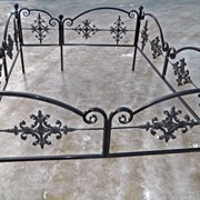 Оградка на кладбище фото