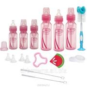Подарочный набор из шести стандартных розовых бутылочек фото
