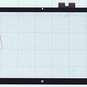 Сенсорное стекло (тачскрин) для HP ENVY 15-c черное, Диагональ 15.6 фото