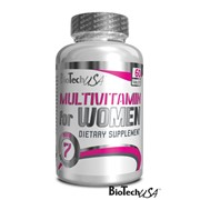 Multivitamin for Women (WOMEN'S PERFORMANCE) BioTech USA 60 tabs. фото