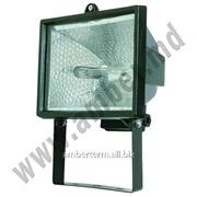 Прожектор HL 101 500W R7S 118мм, черный Horoz (140220) фото