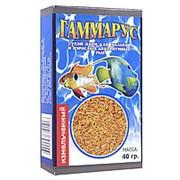 Корм Гаммарус измельченный для рыб 100г фото