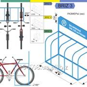 """Велосипедная парковка """"BRIZ"""" фото"""