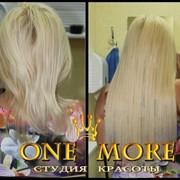 Наращивание волос в Харькове фото