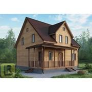 Дом каркасно-щитовой Проект №38 (8,5х8,5) фото