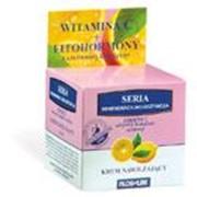 Крем увлажняющий с витамином С и активным растительным комплексом