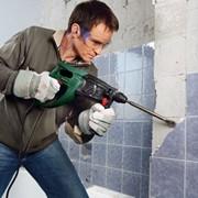 Демонтаж плитки со стен,полов фото