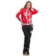 Спортивный костюм Гламур красный Артикул mos-16488