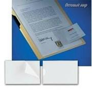 Самоклеящиеся Карман APLI Для Визиток, Неудаляемый, Прозрачные, 60X105мм 10 шт/уп фото