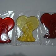 Леденцы на палочке фигурные (К Дню Святого Валентина) фото