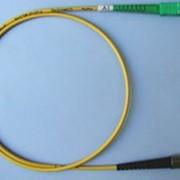 Шнур оптический SM-FC, UPC-SC, APC, 3м фото
