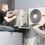 Установка и пуско-наладочные работы систем кондиционирования. фото