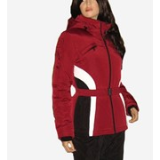 Зимний костюм красно-черный фото