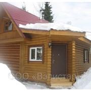 Дома деревянные, бани. фото