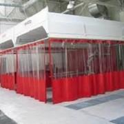 Шторы для автомойки, гибкие ворота, промышленные шторы, гибкие завесы фото