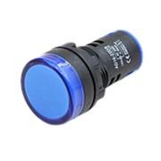 Световой индикатор AD16-22D/S 220V (LED) синий фото