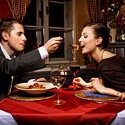 Романтический ужин в итальянском стиле фото