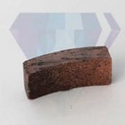 Алмазные сегменты для сверл кольцевых радиусные фото