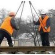 Укладка железнодорожного пути в Украине фото