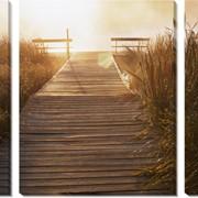 Модульная картина Мост копія, Неизвестен фото