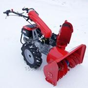 Навесное оборудование для мотоблока, снегоуборщик фото