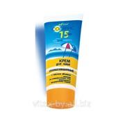 Крем солнцезащитный для лица SPF 15 с маслом облепихи, линия СОЛЯРИС фото