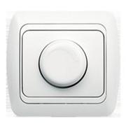 Выключатель TUNA реостат 800Вт белый (без вставки) 502-0200-212 фото