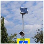 Светофор на солнечных батареях Т.7.2 двусторонниий фото