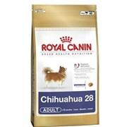 Chihuahua Royal Canin корм для щенков и взрослых собак, От 8 месяцев, Чихуахуа, Пакет, 0,500кг фото