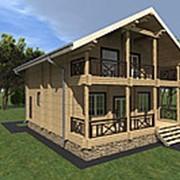 Проект 26, 161кв.м. Дом из профилированного бруса камерной сушки фото