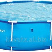 Круглый каркасный бассейн Bestway 56059 Steel Pro Frame Pool, (305х76см) фото