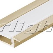 Алюминиевый Профиль MIC-F-2000 ANOD Gold Deep Артикул 017649 фото